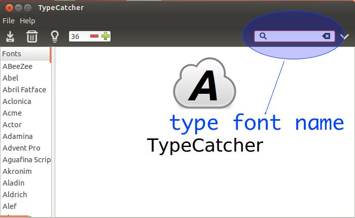 how to install google fonts in ubuntu