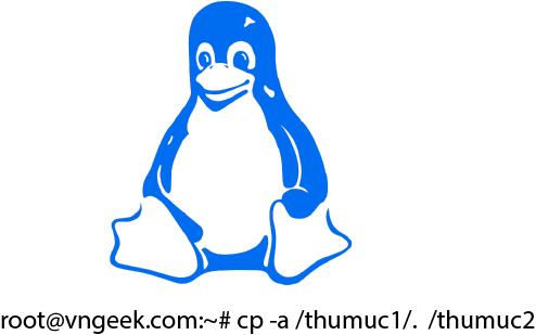 Sao chép tập tin (copy) từ thư mục này sang thư mục khác đúng cách trong Linux