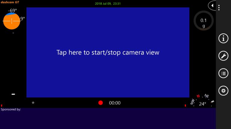 Biến điện thoại Lumia làm camera hành trình cho xe hơi