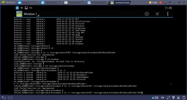 Một cách khác để chia sẻ các tập tin trên BlueStack với máy tính Windows (dùng Syncthing)