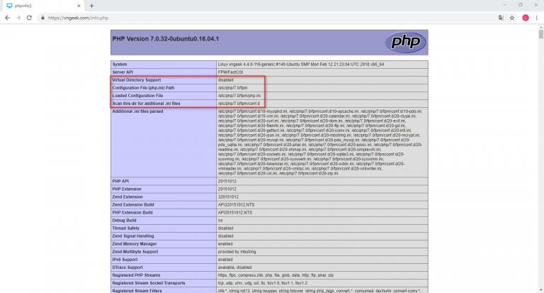 Kiểm tra phiên bản PHP đang sử dụng trên máy chủ