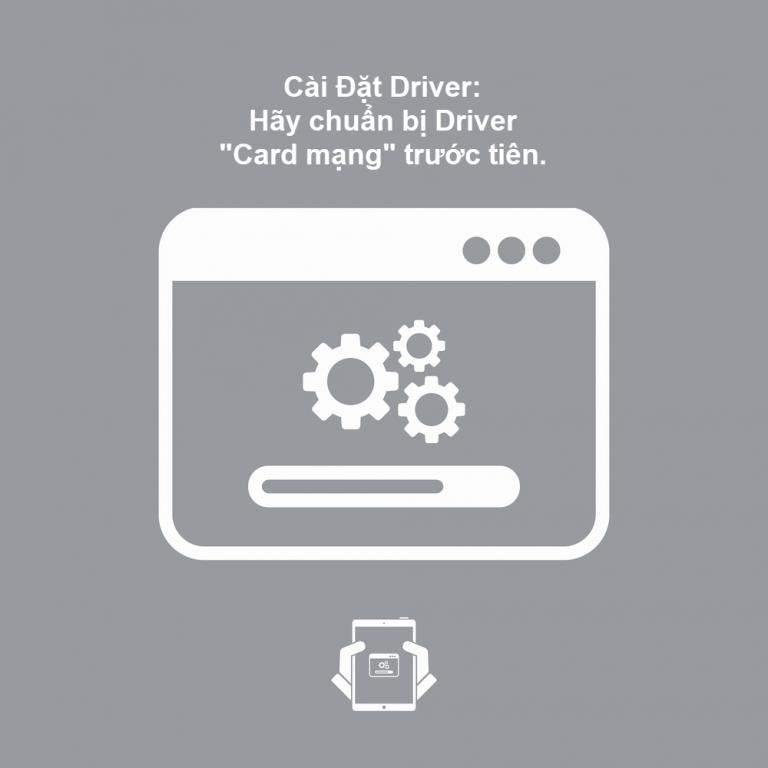 Mình đã mất 3 tiếng đồng hồ chỉ để cài một Driver card mạng